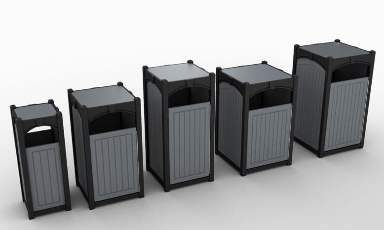 Square - Multiple Gallon Capacities Available