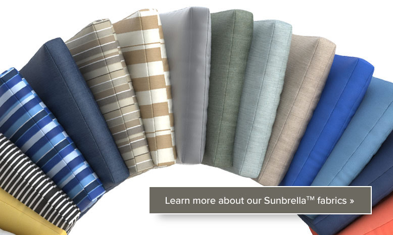 Sunbrella Fabric - Pillows and Cushions